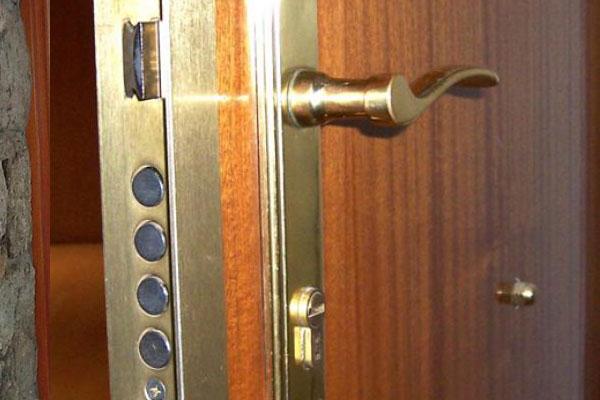 Puertas blindadas en Pamplona